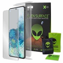Folie 360° Samsung Galaxy S20 5G Alien Surface XHD Ecran, Spate, Laterale - Clear