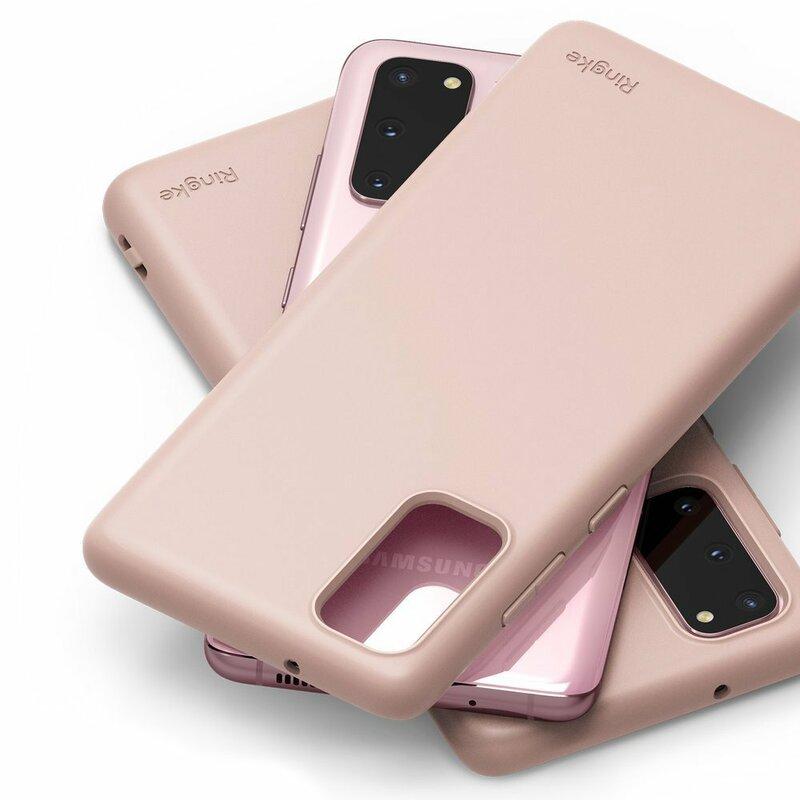 Husa Samsung Galaxy S20 5G Ringke Air S - Pink Sand