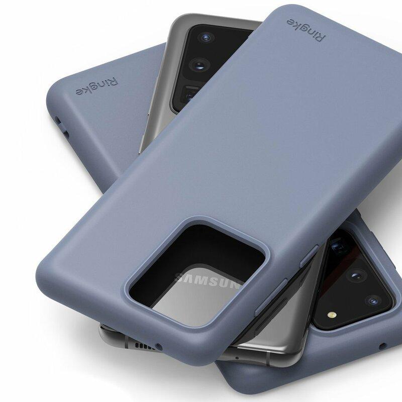 Husa Samsung Galaxy S20 Ultra 5G Ringke Air S - Lavender Gray