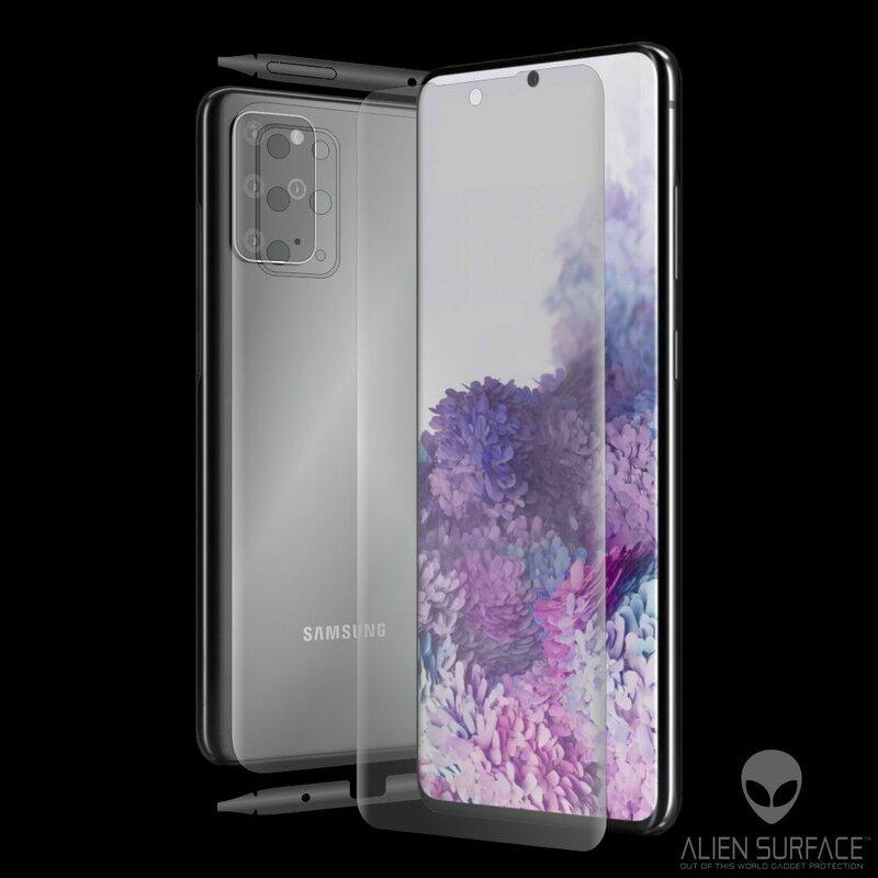 Folie 360° Samsung Galaxy S20 Plus 5G Alien Surface ecran, spate, laterale, camera - Clear
