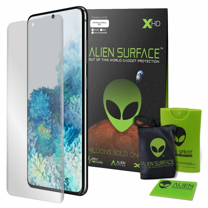 Folie Regenerabila Samsung Galaxy S20 5G Alien Surface XHD Full Face - Clear