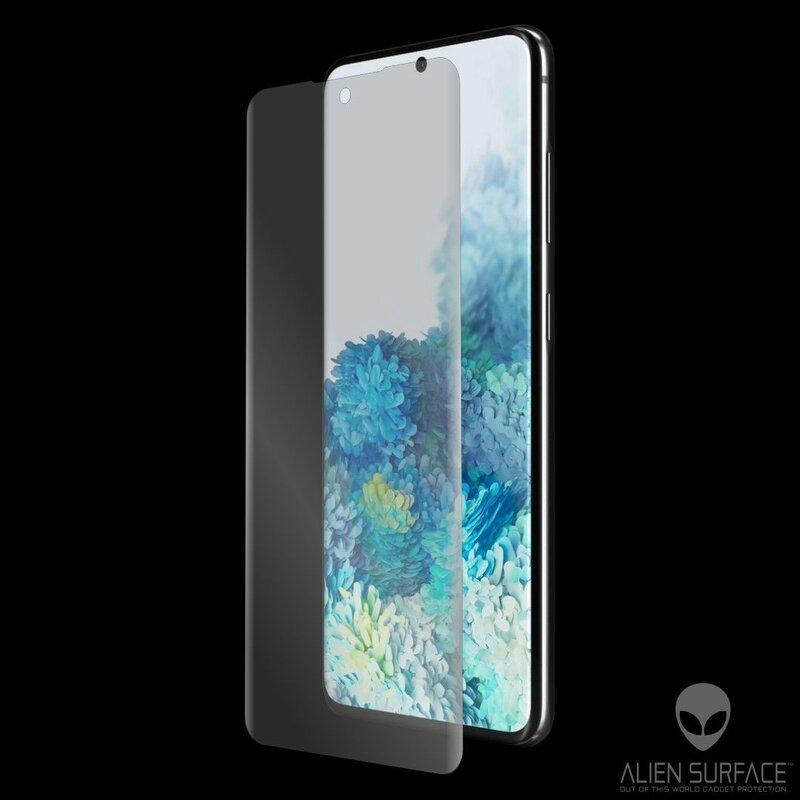 Folie Regenerabila Samsung Galaxy S20 5G Alien Surface XHD Case Friendly - Clear