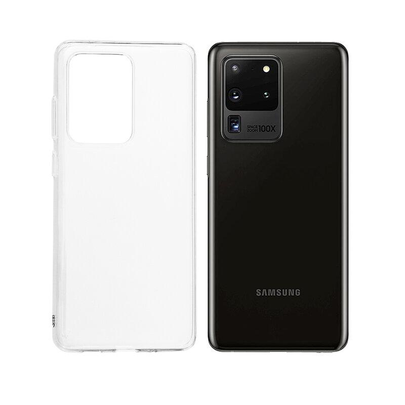 Husa Samsung Galaxy S20 Ultra 5G 3mk Clear Case - Clear