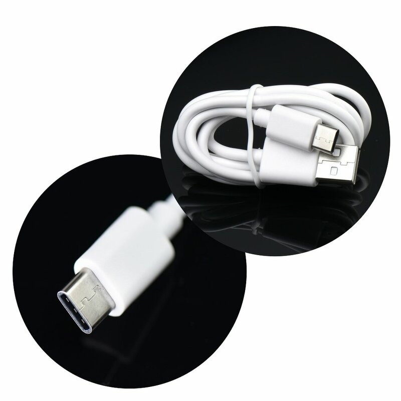 Incarcator Priza Forcell 2.0A + Cablu USB-C -Alb