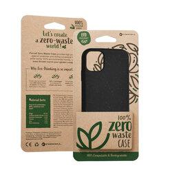 Husa iPhone 11 Forcell Bio Zero Waste Eco Friendly - Negru