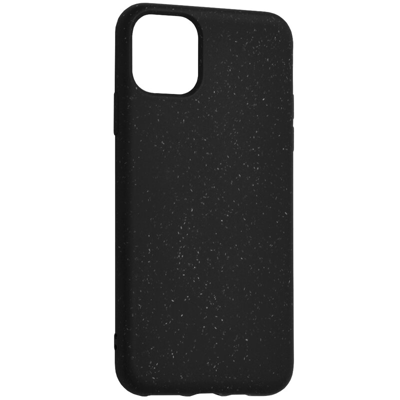 Husa iPhone 11 Pro Max Forcell Bio Zero Waste Eco Friendly - Negru