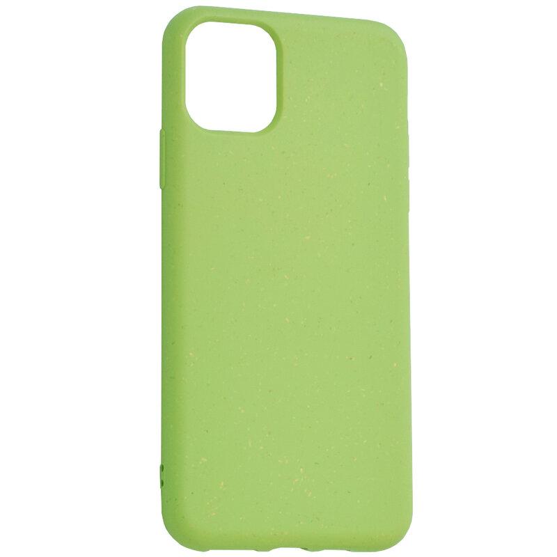 Husa iPhone 11 Pro Max Forcell Bio Zero Waste Eco Friendly - Verde