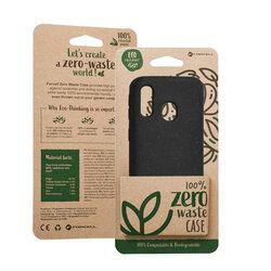 Husa Samsung Galaxy A40 Forcell Bio Zero Waste Eco Friendly - Negru
