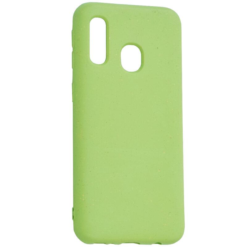 Husa Samsung Galaxy A40 Forcell Bio Zero Waste Eco Friendly - Verde