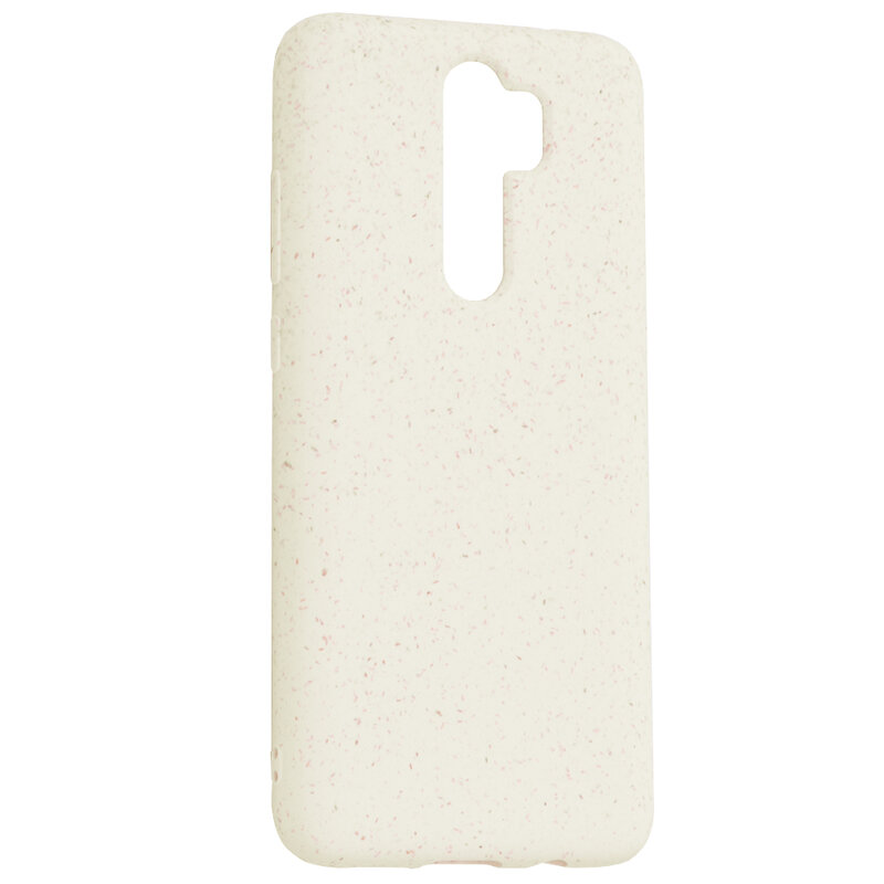 Husa Xiaomi Redmi Note 8 Pro Forcell Bio Zero Waste Eco Friendly - Alb