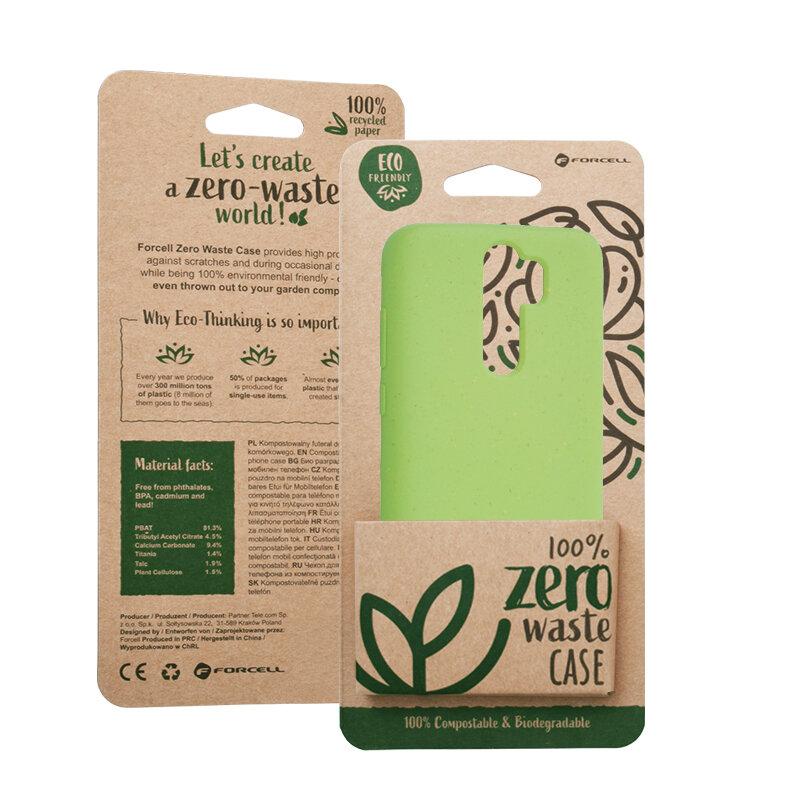 Husa Xiaomi Redmi Note 8 Pro Forcell Bio Zero Waste Eco Friendly - Verde
