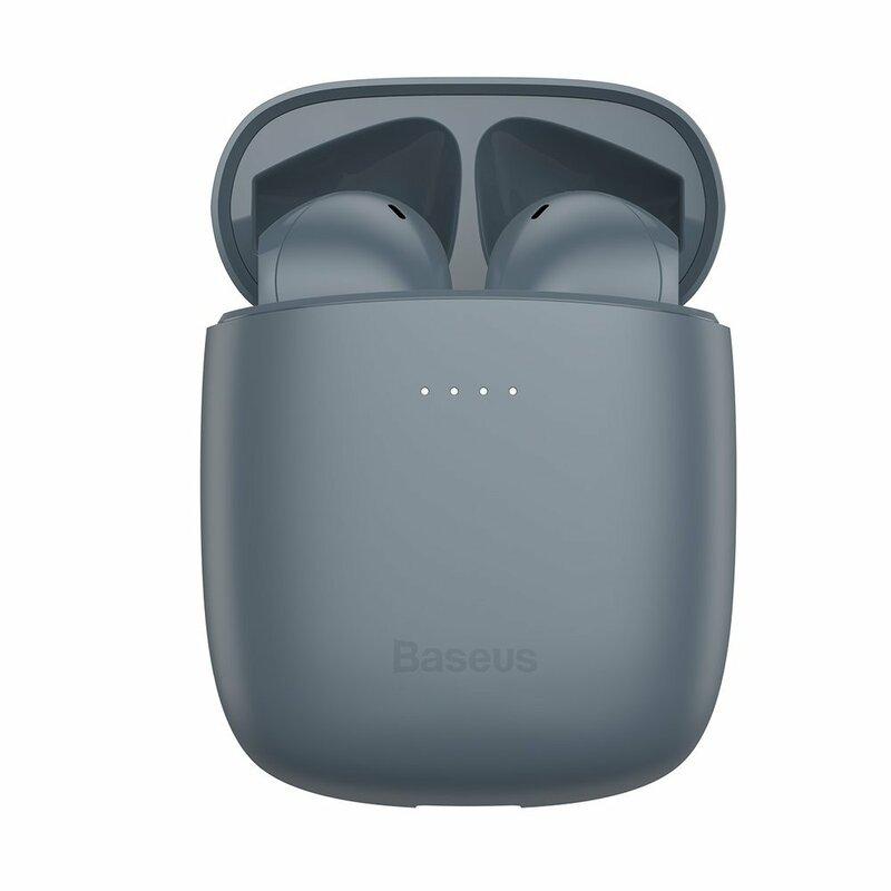Casti In-Ear Baseus Enkok W04 Pro True Wireless Earphones Hi-fi Cu Microfon - NGW04P-0G - Gri