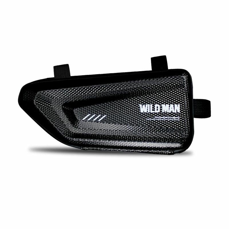 Geanta Pentru Bicicleta WildMan E4 Hardpouch Impermeabila Cu Buzunare Interioare Pentru Depozitare - Negru