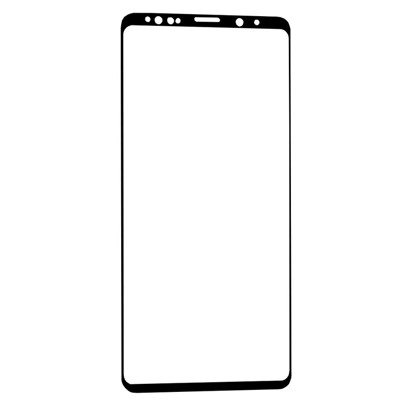 Folie Samsung Galaxy Note 9 Blueo 5D Mr. Monkey Full Glue EVO Cu Rama - Negru