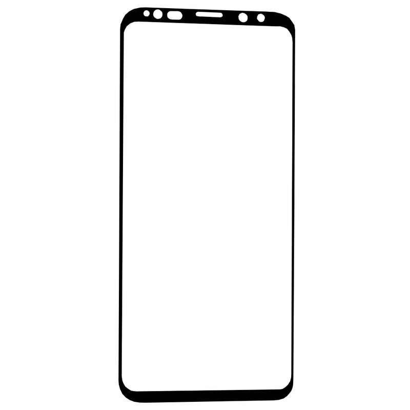 Folie Samsung Galaxy S9 Blueo 5D Mr. Monkey Full Glue EVO Cu Rama - Negru