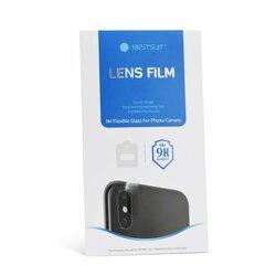 Folie Camera iPhone XS Bestsuit Lens Film 9H Flexible Glass - Clear