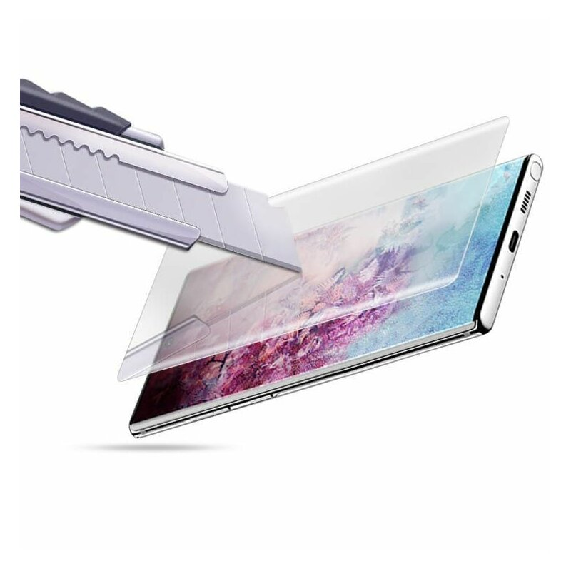 Folie Sticla Samsung Galaxy S20 Plus 5G Mocolo UV Glass - Clear
