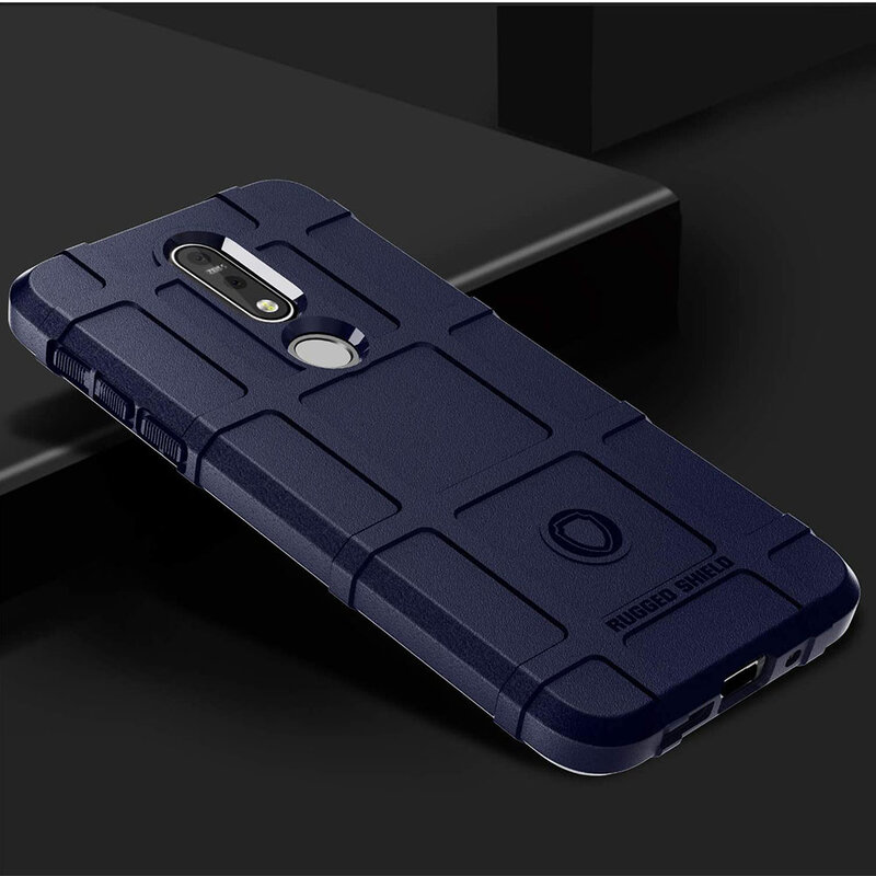 Husa Armor Nokia 7.1 Mobster Shield - Albastru