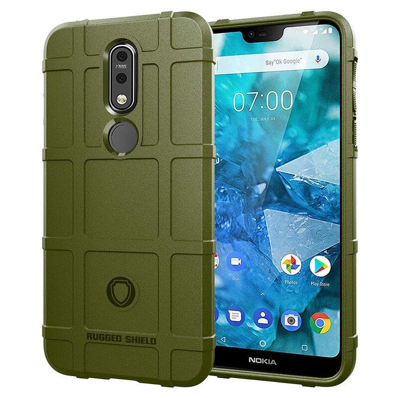 Husa Armor Nokia 7.1 Mobster Shield - Verde