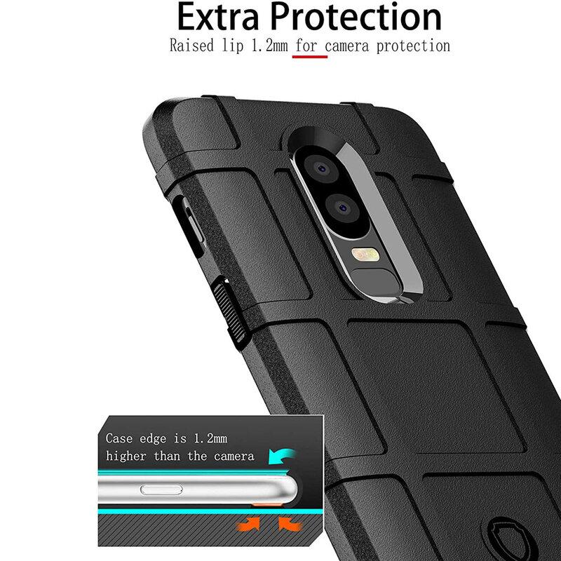Husa Armor OnePlus 6 Mobster Shield - Albastru