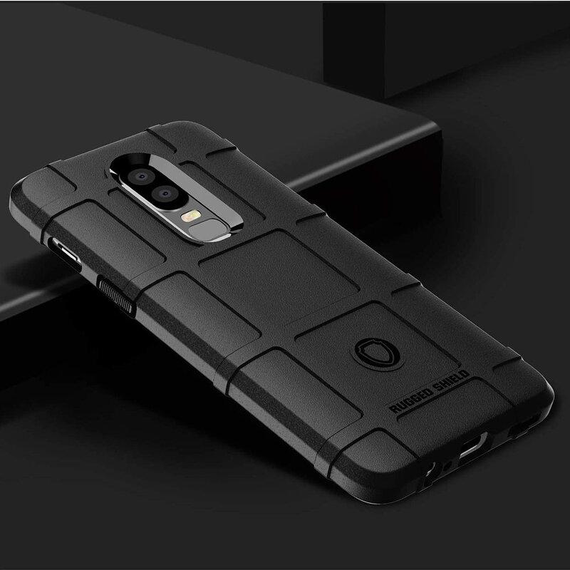 Husa Armor OnePlus 6 Mobster Shield - Negru