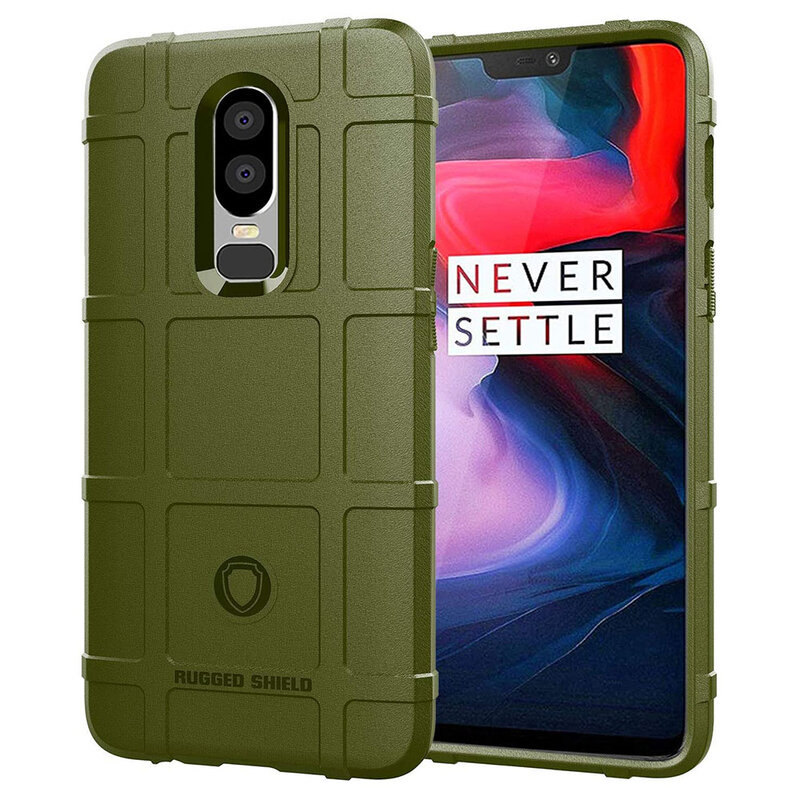 Husa Armor OnePlus 6 Mobster Shield - Verde