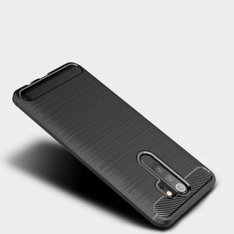 Husa Xiaomi Redmi Note 8 pro TPU Carbon - Negru
