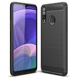Husa Samsung Galaxy A20s TPU Carbon - Negru