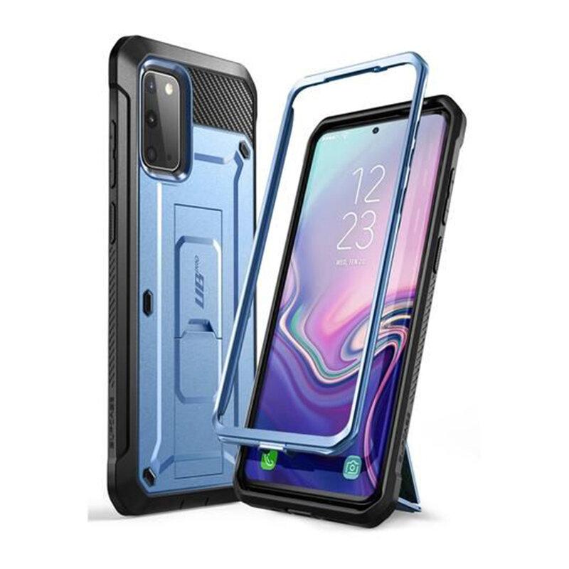 Husa Samsung Galaxy S20 5G Supcase Unicorn Beetle Pro - Metallic Blue