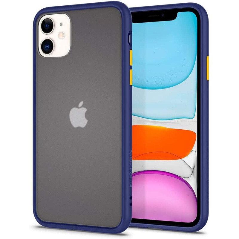 Husa iPhone 11 Spigen Ciel by Cyrill Color Brick - Navy