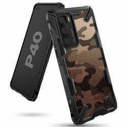 Husa Huawei P40 Ringke Fusion X Design - Camo Black