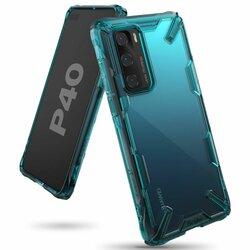 Husa Huawei P40 Ringke Fusion X - Turquoise Green