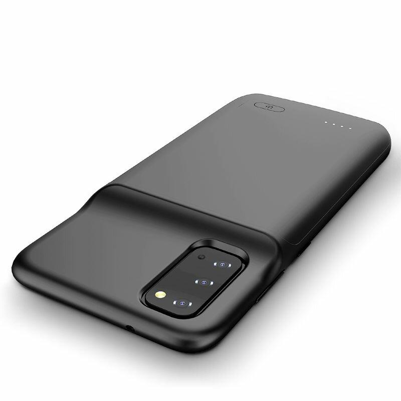 Husa Cu Baterie Samsung Galaxy S20 Ultra 5G Tech-Protect Battery Pack 6000mAh - Negru