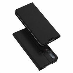 Husa Huawei P40 Lite E Dux Ducis Flip Stand Book - Negru