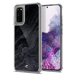 Husa Samsung Galaxy S20 5G Spigen Ciel by Cyrill Etoile - Noir Marble