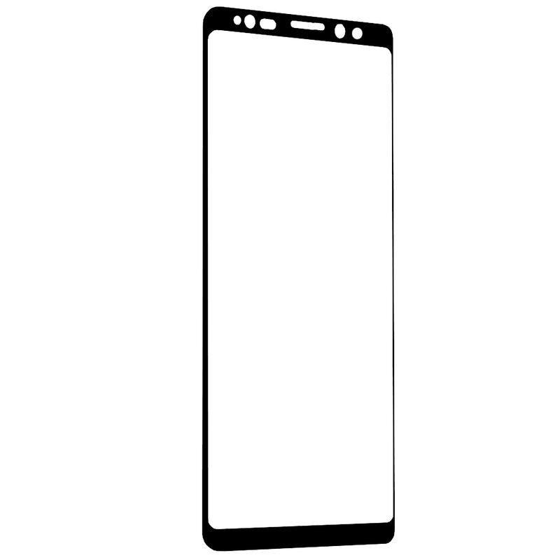Folie Sticla Samsung Galaxy Note 9 Mr. Monkey 3D Hot Bending Cu Rama - Negru