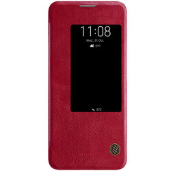 Husa Huawei Mate 20 Pro Flip Nillkin QIN Rosu