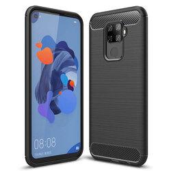 Husa Huawei Mate 30 Lite TPU Carbon Negru