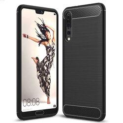 Husa Huawei P20 Pro TPU Carbon Negru