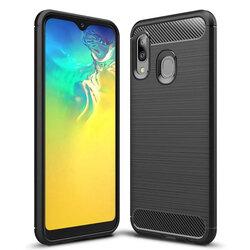 Husa Samsung Galaxy A20e TPU Carbon Negru