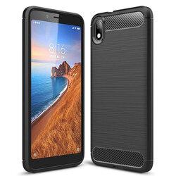 Husa Xiaomi Redmi 7A TPU Carbon Negru