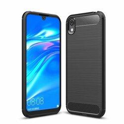 Husa Huawei Y5 2019 TPU Carbon Negru
