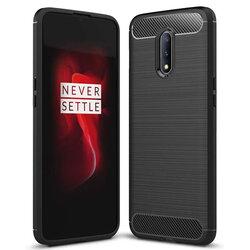 Husa OnePlus 7 TPU Carbon Negru