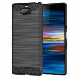 Husa Sony Xperia 10 TPU Carbon Negru