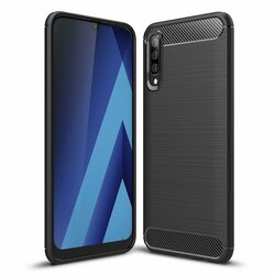 Husa Samsung Galaxy A30s TPU Carbon - Negru