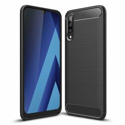 Husa Samsung Galaxy A70 TPU Carbon Negru