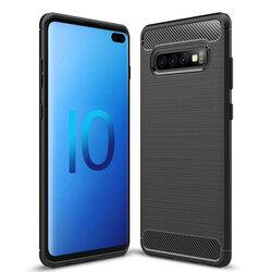 Husa Samsung Galaxy S10 Plus TPU Carbon Negru
