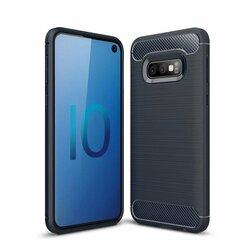 Husa Samsung Galaxy S10e TPU Carbon Albastru
