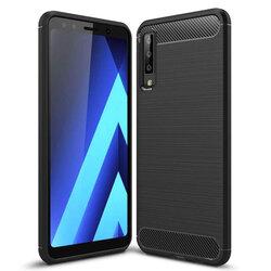 Husa Samsung Galaxy A7 2018 TPU Carbon Negru