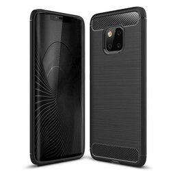 Husa Huawei Mate 20 Pro TPU Carbon Negru